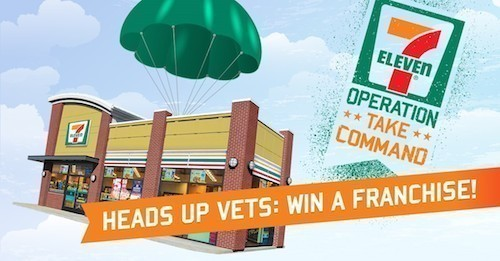 Give a Veteran a Fresh Start with the 7-Eleven Franchise Giveaway